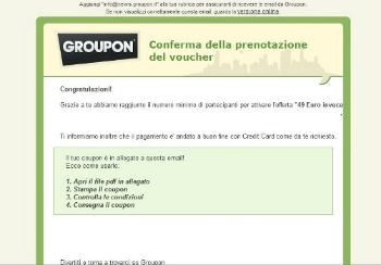 Groupon, Groupalia e simili