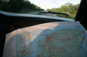 Mappa on the road