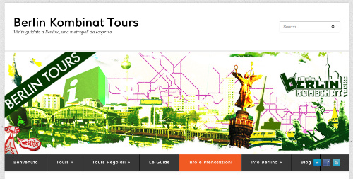 Homepage Berlin Kombinat Tours