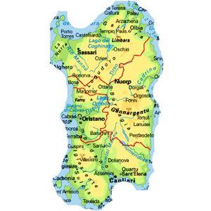 Cartina Sardegna Con Aeroporti.Sardegna Semplicemente