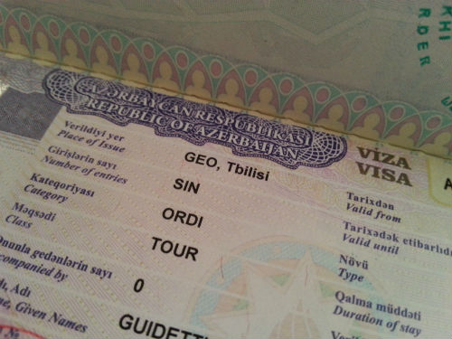 Ufficio Visti Per La Cina Milano : Come ottenere il visto per l azerbaijan