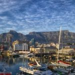 Cape Town, il porto e Table Mountain